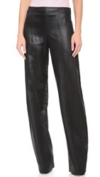 Narciso Rodriguez Sateen Pants Onyx