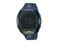 Timex Ironman Sleek 150 Tapscreen Full Size Resin Strap Blue Lime Watches