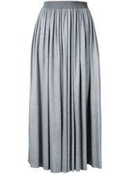 Astraet Pleated Skirt Grey
