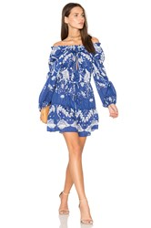 Alice Mccall Cant Do Without You Mini Dress Blue