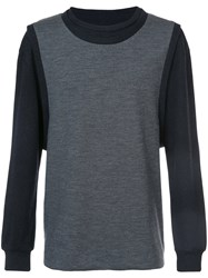 Private Stock Double Layer Sweatshirt Polyester Wool M Black