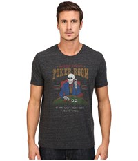 Lucky Brand Poker Room Graphic Tee Onyx Men's T Shirt Black