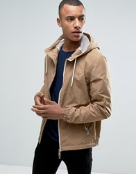 Esprit Lightweight Hooded Jacket Beige