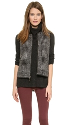 Madewell Reversible Quilted Puffer Vest True Black