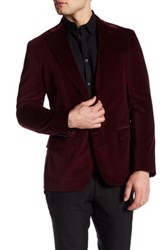 Robert Graham Wragby Two Button Notch Lapel Sport Coat Red