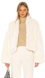Lpa Dilone Jacket In White. Ivory