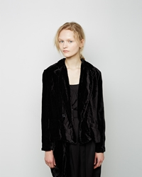 Limi Feu Back Slit Jacket Black