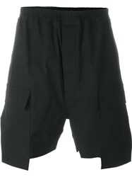 Rick Owens Running Shorts Black