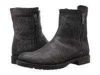 Frye Natalie Double Zip Charcoal Cut Vintage Leather Women's Boots Black