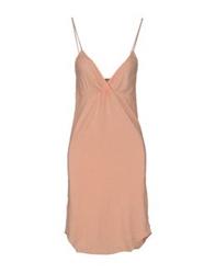 Gold Case Sogno Short Dresses Apricot