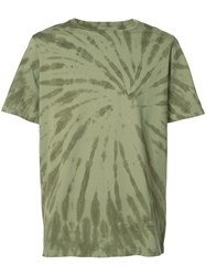 Ovadia And Sons Tie Dye T Shirt Men Cotton Xl Green