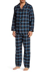 Majestic Flannel Pajama 2 Piece Set Green