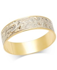 Erwin Pearl Atelier For Charter Club Gold Tone Enamel Swirl Cuff Bracelet Only At Macy's White Marble Gold