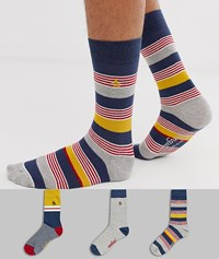 Penguin Original 3 Pack Gift Socks Multi