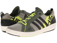 Adidas Outdoor Boat Lace Dlx Tech Beige Black Semi Solar Yellow Men's Shoes Gray