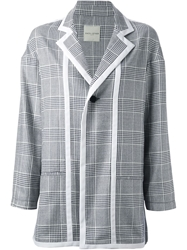 Each X Other Checked Blazer Blue