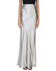 Amanda Wakeley Long Skirts Grey