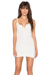 Unif Parker Mini Dress White