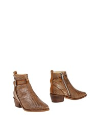 Pinko Ankle Boots Brown