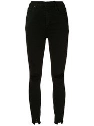 Nobody Denim Siren Skinny Fit Jeans Black