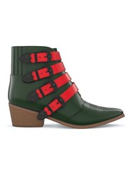 Toga Pulla Customisable Aj006 Boots Red