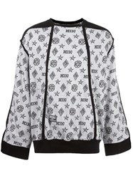 Ktz Monogram Inside Out Sweatshirt White