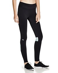 Under Armour Fly By Leggings Black Teal