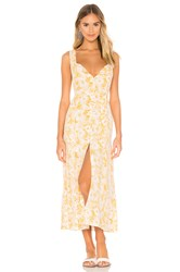 L Space Summer Jams Dress Yellow