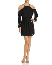 Daniel Rainn Cold Shoulder Dress Black