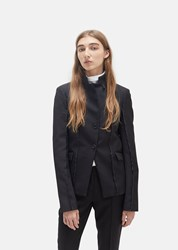 Yang Li Sharp Tailored Blazer Black Size It 40