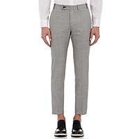 Brooklyn Tailors Men's Plain Weave Trousers Grey