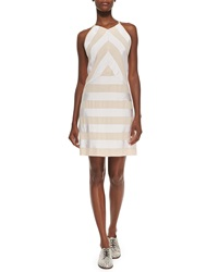 Kenzo Sleeveless Ribbon Dress W Solid Back White