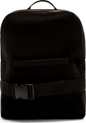 Denis Gagnon Black And Gold Velour Backpack