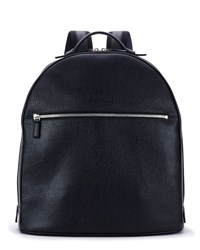 Salvatore Ferragamo Revival Men's Leather Backpack Blue