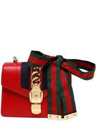 Gucci Mini Sylvie Leather Chain Shoulder Bag