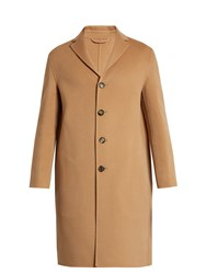 Acne Studios Charlie Wool And Cashmere Blend Overcoat Camel
