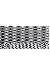 Missoni Mare Crochet Knit Headband Black