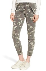 Kut From The Kloth Connie Ankle Skinny Camo Jeans Olive