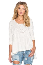 Free People New Hope Babydoll Top Ivory