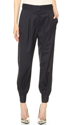 Band Of Outsiders Slouchy Cuffed Pants Navy
