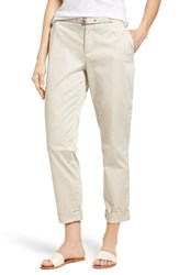 Nydj Women's Roll Cuff Ankle Pants Clay