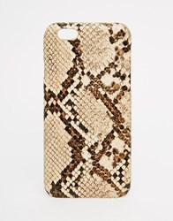 Asos Snakeskin Print Iphone 6 And 6S Case Multi