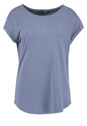 Mbym Nisha Basic Tshirt Divine Blue Light Blue
