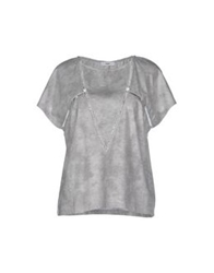 Suncoo T Shirts Grey