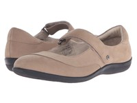 Revere Amalfi Grey Nubuck Women's Flat Shoes Gray
