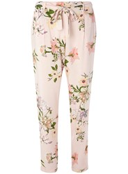 Dorothy Perkins Blush Floral Tie Trousers Pink