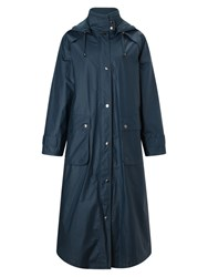 Four Seasons Waxed Coat Petrol