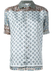 Pierre Louis Mascia Loose Fit Printed Shirt