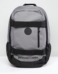 Dc Shoes Clocked Backpack In Grey