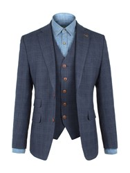 Gibson Men's Blue Check Jacket Blue
